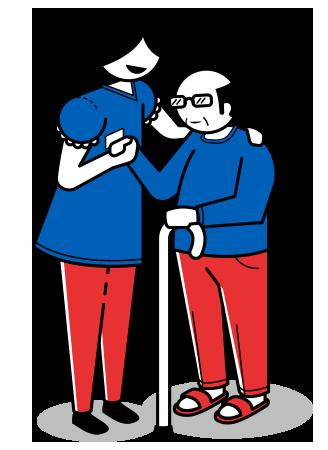 Punti ciechi risalenti a 4 persone disabili